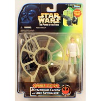 Star Wars Potf2 Anh Gunner Station Millennium Falcon With Luke Skywalker Moc