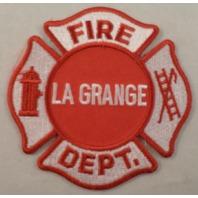 La Grange Fire Department Uniform Patch #Mtrd