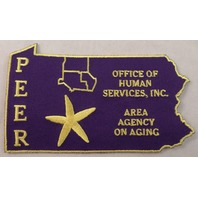 Peer Office Of Human Services Inc Area Agency On Aging  Uniform Patch #Mtyl