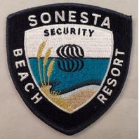Sonesta Security Beach Resort Uniform Patch #Mtbl