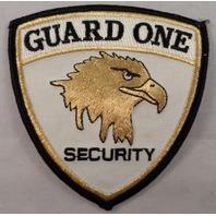 Guard One Security Golden Eagle Uniform Patch #Mtbl