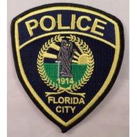 Police Forida City  Uniform Patch #Mtbl