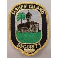 Fisher Island Security Uniform Patch #Mtyl