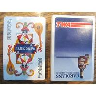 Vintage Twa Deck Carolans Irish Cream Liqueur Playing Cards Advertising Sealed