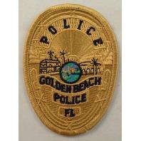 Police Golden Beach Police Florida Uniform Patch #Mtyl
