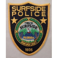 Town Of Surfside Police Miami Dade County Florida Uniform Patch #Mtyl