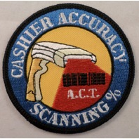 Cashier Accuracy Scanning Act Uniform Patch #Msbk