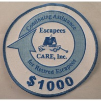 Continuing Assistance For Retired Escapees $1000 Uniform Patch #Msbl
