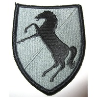 Us Army Stallion Horse Subdued Military Uniform Sheild  Patch