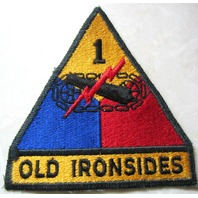 Old Ironsides Us Army Armored Division Vietnam Era Patch