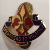 Us Military Hat Lapel Pin 177Th Armored Brigade Spearhead To Victory