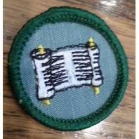 Jr. Girl Scout Green Junior Merit Badge Writer
