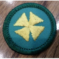 Jr. Girl Scout Green Junior Merit Badge Cross Health Aid