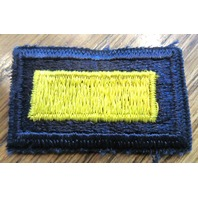 Royal Rangers Vintage Gold Blue Yellow Shoulder Bar Uniform Patch