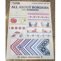 Cross Quick Feb/Mar 1989 Borders Counted Cross Stitch Lot Booklet Pamplet