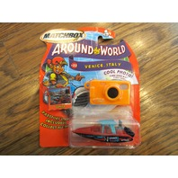 Matchbox *Around The World* ~ Venice, Italy ~ *Speedboat* #22