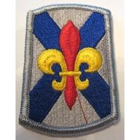 Us Army Subdued Fleur-Di-Lis Military Uniform Patch