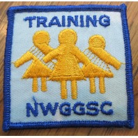 Girl Scout Gs Vintage Uniform Patch  Training Nwggsc