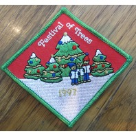 Girl Scout Gs Vintage Uniform Patch  Girl Scout Festival Of Trees 1997