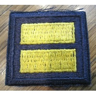 Royal Rangers Vintage Gold Blue Yellow Shoulder Double Bar Uniform Patch