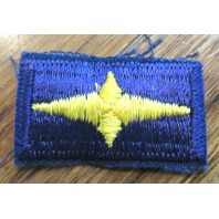 Royal Rangers Vintage Navy And Gold Star Uniform Patch
