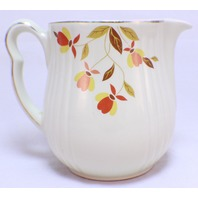 """Jewel Tea Autumn Leaf Utility Pitcher From Hall China """"Rayed"""""""