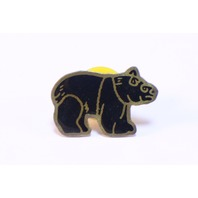 Teddy Bear BrownBear Zoo Animal Hat Lapel Pin