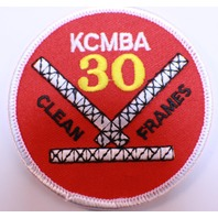Bowling Uniform Patch KCMBA 30 Clean Frames