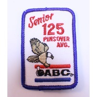 Bowling Uniform Patch High ABC Senior 125 Pins over Average