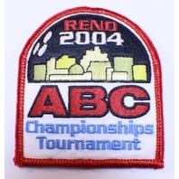 Bowling Uniform Patch High Reno 2004 ABC Championships Tournament