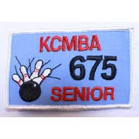 Bowling Uniform Patch High Reno KCMBA 675 Senior