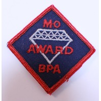 Bowling Uniform Patch High MO Diamond Award BPA