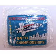 Bowling Uniform Patch High Huntsville Alabama ABC 94th Championships