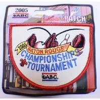 Bowling Uniform Patch ABC 2005 Championship Tournament Baton Rouge