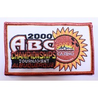 Bowling Uniform Patch ABC 2000 Championship Tournament Albuquerque