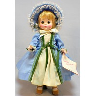 "Madame Alexander 14"" Manet Doll and Tagged Outfit with Hat and shoes"