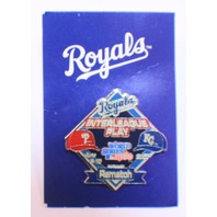 Royals Vs Philadelphia Phillies World Series 1980 Rematch Hat Lapel Pin New