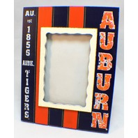"Auburn Tigers Aubie Collegiate Licensed Wooden Photo Picture Frame 4"" X 6"""