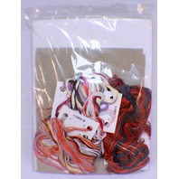 """Janlynn Counted Cross Stitch Kitchen Copper 9"""" X 22"""" New Kit By Helen Paul"""
