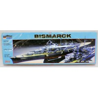 Zhengdefu Model Kit Bismarck German Warship unopened and motorized