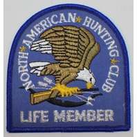 North American Hunting Club Eagle Official Life Member Vintage Uniform Patch