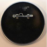 Made in the USA Star Flag Logo Button Hallmark Lapel Pin