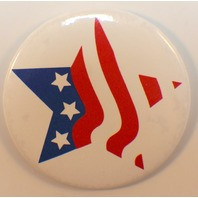 Made in the USA Star Flag Logo Button Hallmark Lapel Pin