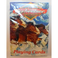 Budweiser Beer Clidesdales Sealed Package Deck of Playing Cards