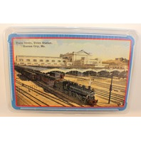 Union Station Train Sheds Kansas City Mo Sealed Package Deck of Playing Cards