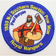 1999 NJ Southern Section Pow Wow Paul Buyan Royal Ranger Uniform Patch