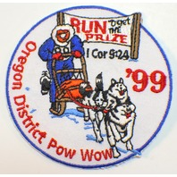 Oregon District Pow Wow 1999 Dog Sled Race Royal Ranger Uniform Patch
