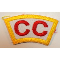Bsa Boy Scout Uniform Patch CC Rocker Bar