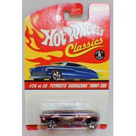 Hot Wheels Classics Plymouth Barracuda Special Paint