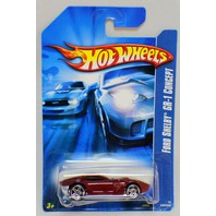 Hot Wheels Ford Shelby GR-1 Concept Car Marroon Red
